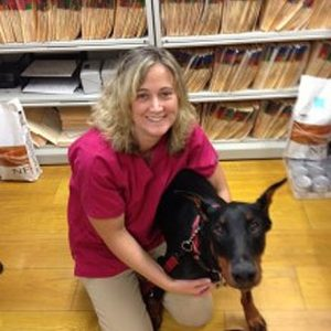 jessica Towlen, veterinary Technician at Hollis Veterinary Hospital in Hollis NH